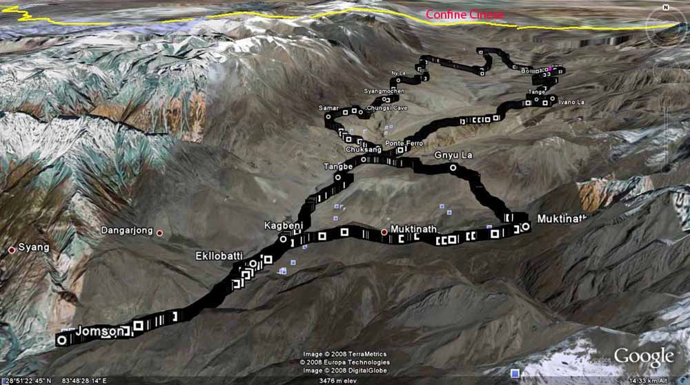 trekking nel mustang nepal